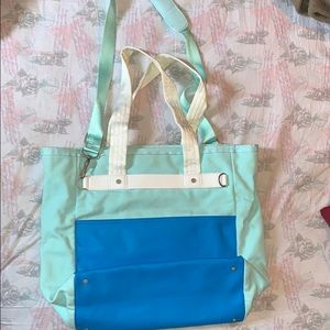 LLL Urban Oasis Canvas Tote